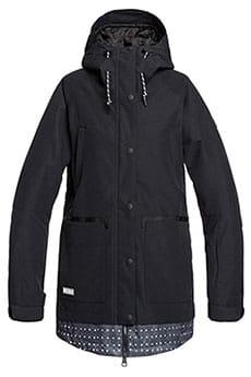 Куртка утепленная женская DC Shoes Riji Black