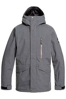 Куртка Сноубордическая  QUIKSILVER Mission Black Heather