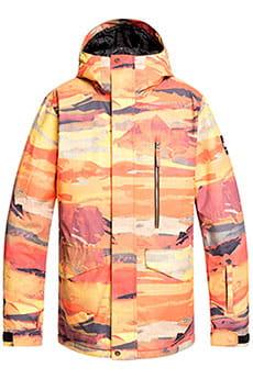 Куртка Сноубордическая QUIKSILVER Mission Matte Paint Оранжевый
