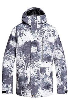 Куртка сноубордическая QUIKSILVER  Mission Castle Rock Splash Мультиколор