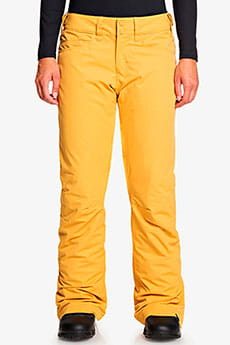 Штаны сноубордические женские Roxy Backyard Spruce Yellow