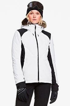 Куртка утепленная женский Roxy Breeze Mountain Bright White