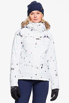 Куртка утепленная женская Roxy Jet Ski Bright White On Pist