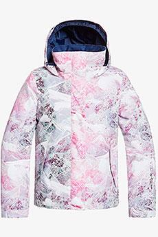 Куртка утепленная детская Roxy Jetty Girl Bright White Mysteri