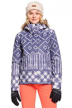 Синий женская сноубордическая куртка jet ski