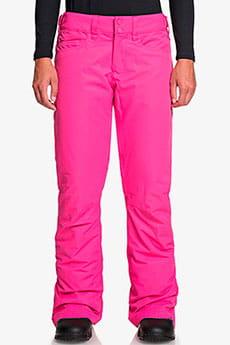 Штаны сноубордические женские Roxy Backyard Beetroot Pink17