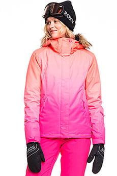 Куртка утепленная женская Roxy Jet Ski Se Beetroot Pink Prado