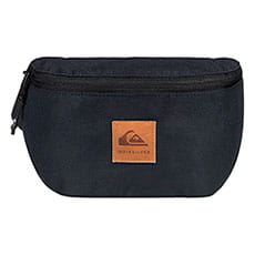 Сумка поясная QUIKSILVER Cross Body Bag Corduroy Black