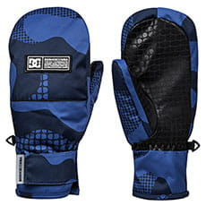 Варежки сноубордические детские DC Shoes Franchise Monaco Blue