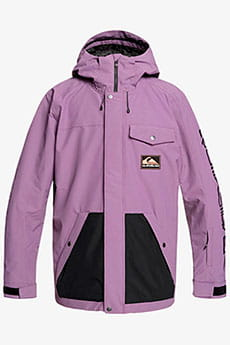Куртка утепленная QUIKSILVER Hood Anni Grape Compote