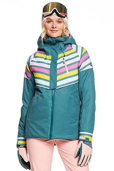 Куртка утепленная женская Roxy Frozen Flow North Sea Pop Snow
