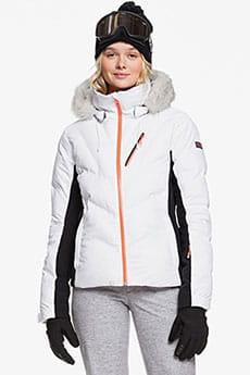 Куртка утепленная Roxy Snowstorm Bright White