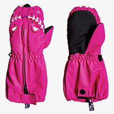 Варежки сноубордические детские Roxy Snows Up Mitt Beetroot Pink