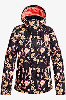 Куртка утепленная женская Roxy Tb Rx Jetty True Black Magnolia