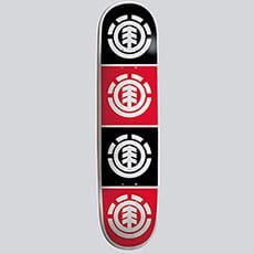 Дека для скейтборда Element Quadrant 7.75 Assorted