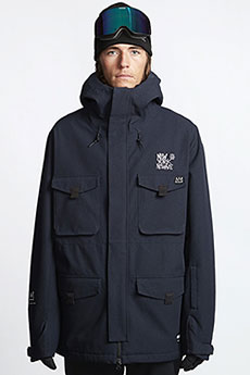 Куртка утепленная Billabong Adversary Black