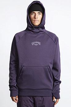Толстовка кенгуру Billabong Downhill Hood Dark Purple