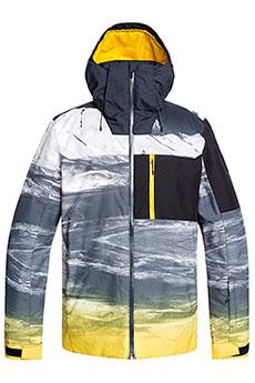 Куртка утепленная QUIKSILVER Mission Plus Jk Sulphur Mapple Aroun