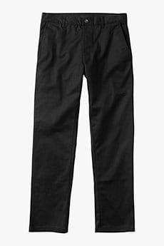 Штаны прямые RVCA Weekend Stretch Black