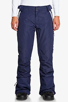 Бордовый женские сноубордические штаны rushmore 2l gore-tex®