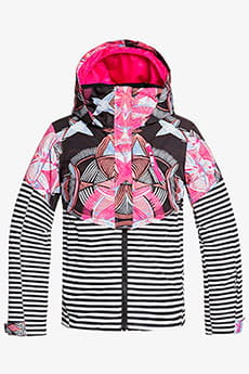 Куртка утепленная детская Roxy Frozen F True Black Active