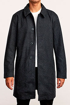 Пальто RVCA Mac Coat Black Marle