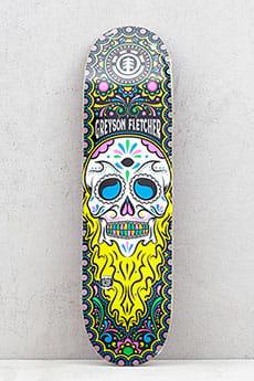 Дека для скейтборда Element Calavera Greyson 8.5 Assorted 8.5 (21.6 см)