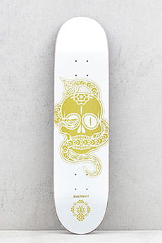 Дека для скейтборда Element Calavera White Gold Assorted