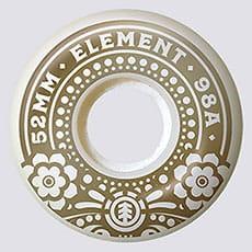 КОЛЕСА ДЛЯ СКЕЙТА (4 шт)  Element  1RECUERDA WHITE GOLD ASSORTED