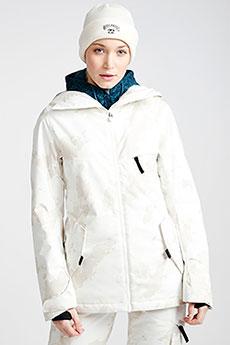 Белый женская сноубордическая куртка eclipse