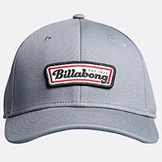 Бейсболка классическая Billabong Walled Stretch Grey
