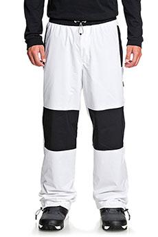 Штаны сноубордические DC Shoes Podium Pnt White