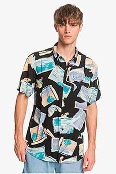 Мультиколор мужская рубашка с коротким рукавом vacancy