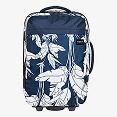 Прозрачный чемодан на колесах feel the sky 35l