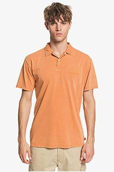 Оранжевое мужская рубашка поло acid sun