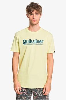 Желтый мужская футболка new slang