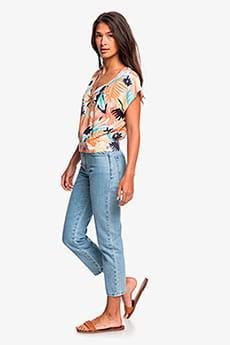 Женские прямые джинсы со средней талией Shape Of The Wave Roxy