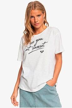 Персиковый женская футболка