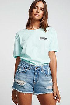 Светло-серые джинсовые шорты billabong drift away