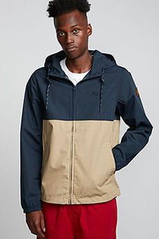 Темно-синий мужская куртка двухцветная alder light