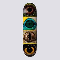 "Дека для скейтборда Element 8"" Nat Geo Eye Quad 1 8.0 (20.3 см)"