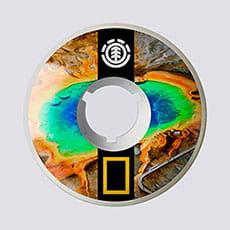 Колеса для скейтборда Element Nat Geo Prismatic 54 1