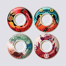 Колеса для скейтборда Element Reptilicus Wheel Set 1