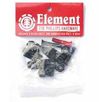 Болты для скейтборда Element Phlips 7-8 Inch Assorted