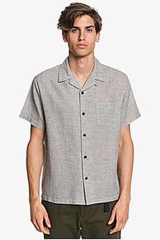 Мужская конопляная рубашка с коротким рукавом Waterman Fifties Micro Quiksilver