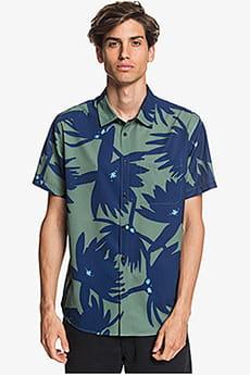 Мужская рубашка с коротким рукавом Waterman Underwater Forrest UPF 30 Quiksilver