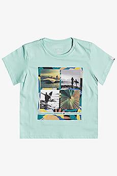 Голубой детская футболка younger years