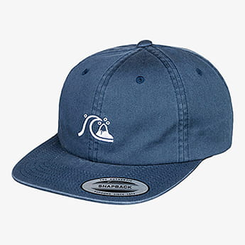 Бейсболка QUIKSILVER Taxer Youth Hdwr Bst0 Blue Nights