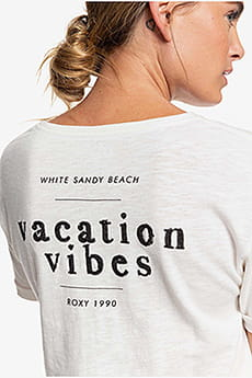 Персиковый женская футболка follow me to the beach c