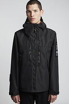 Темно-синий мужская водостойкая куртка aether